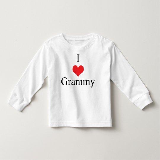 I Love (Heart) Grammy Toddler T-shirt