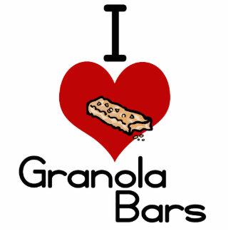 I love-heart granola bars cutout