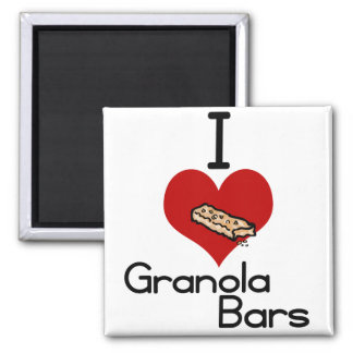 I love-heart granola bars magnets