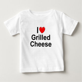 I Love (Heart) Grilled Cheese Baby T-Shirt