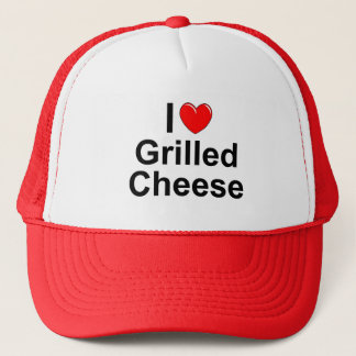 I Love (Heart) Grilled Cheese Trucker Hat