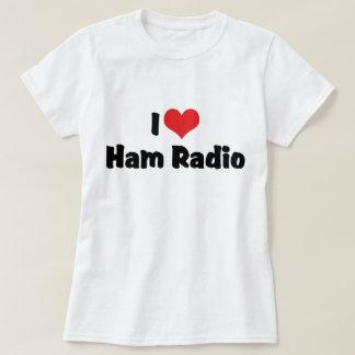 I Love Heart Ham Radio - Amateur Radio Lover T-Shirt