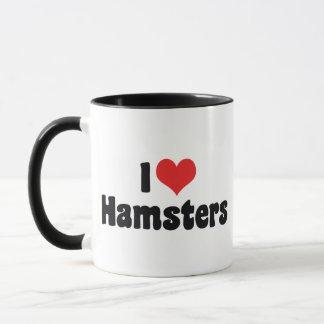 I Love Heart Hamsters Mug
