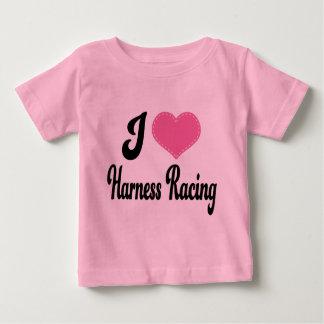 I Love (Heart) Harness Racing Baby T-Shirt