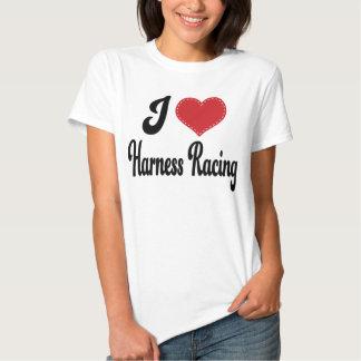 I Love (Heart) Harness Racing Tshirts