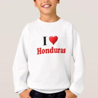 I Love (Heart) Honduras Sweatshirt