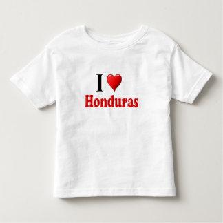 I Love (Heart) Honduras Toddler T-shirt