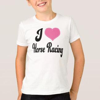I Love (Heart) Horse Racing T-Shirt