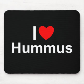 I Love (Heart) Hummus Mouse Pad