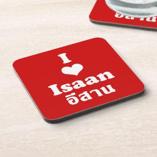 I Love (Heart) Isaan Beverage Coaster