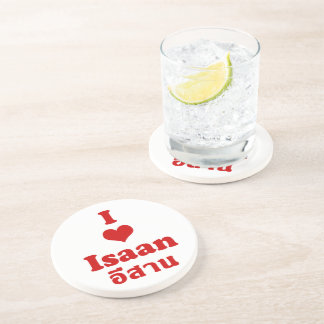 I Love (Heart) Isaan Drink Coaster