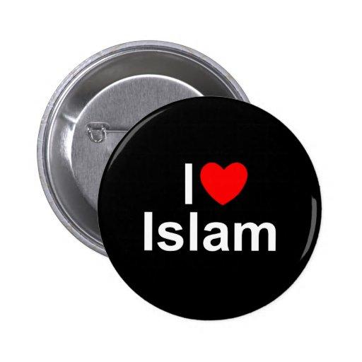 I Love (Heart) Islam Pins