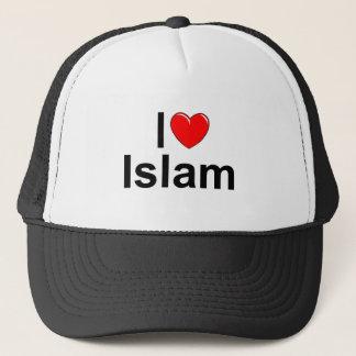 I Love (Heart) Islam Trucker Hat