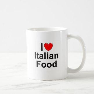 I Love (Heart) Italian Food Coffee Mug