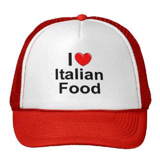 I Love (Heart) Italian Food Hats