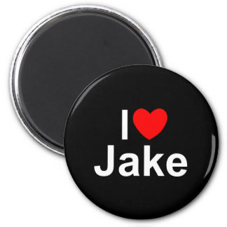 I Love (Heart) Jake Magnet