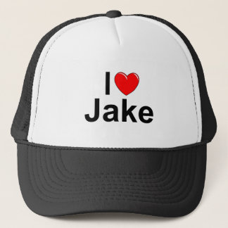 I Love (Heart) Jake Trucker Hat
