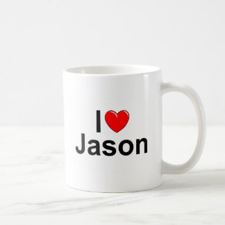 I Love (Heart) Jason Coffee Mug