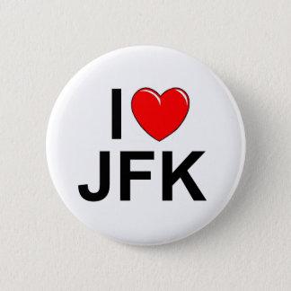 I Love (Heart) JFK Button
