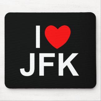I Love (Heart) JFK Mouse Pad