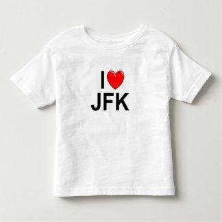 I Love (Heart) JFK Toddler T-shirt