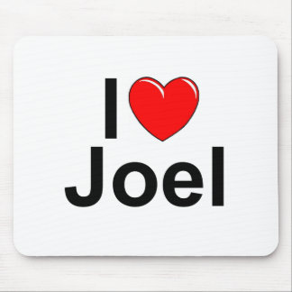 I Love (Heart) Joel Mouse Pad