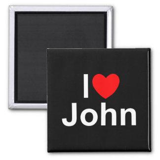 I Love (Heart) John Magnet