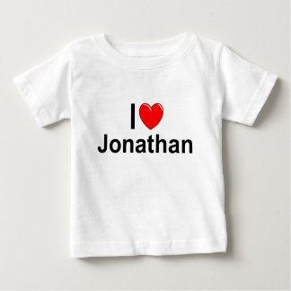 I Love (Heart) Jonathan Baby T-Shirt