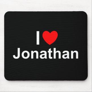 I Love (Heart) Jonathan Mousepads