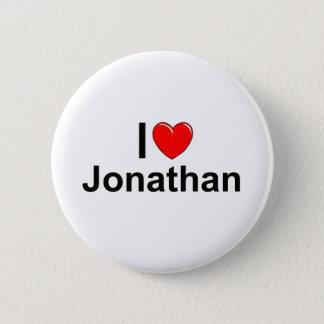 I Love (Heart) Jonathan Pinback Button