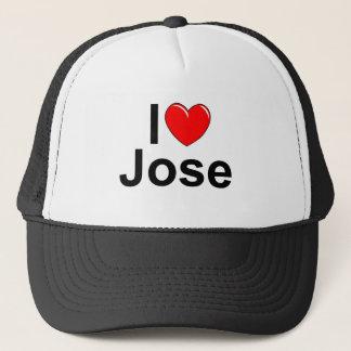 I Love (Heart) Jose Trucker Hat