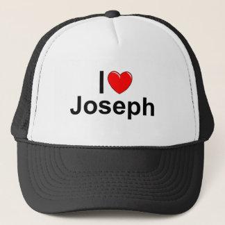 I Love (Heart) Joseph Trucker Hat