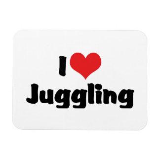 I Love Heart Juggling Magnet