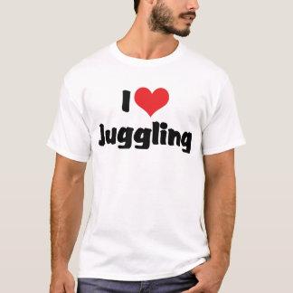 I Love Heart Juggling T-Shirt