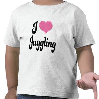 I Love (Heart) Juggling Tshirts