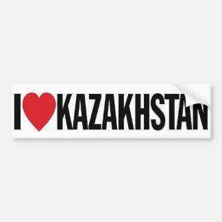 "I Love Heart Kazakhstan 11"" 28cm Vinyl Decal Bumper Sticker"