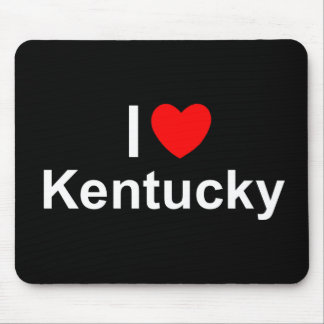 I Love (Heart) Kentucky Mouse Pad