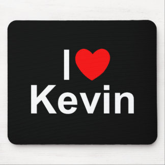 I Love (Heart) Kevin Mouse Pad