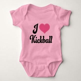 I Love (Heart) Kickball Infant Creeper
