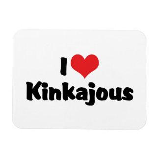 I Love Heart Kinkajous Magnet