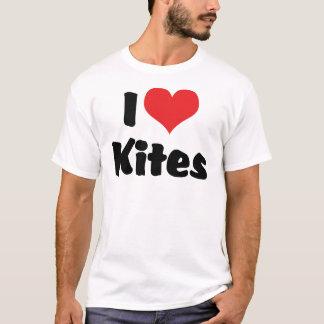 I Love Heart Kites - Kite Flying Lover T-Shirt