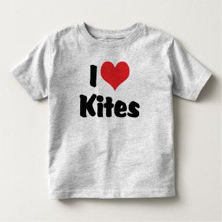 I Love Heart Kites - Kite Flying Lover Toddler T-shirt