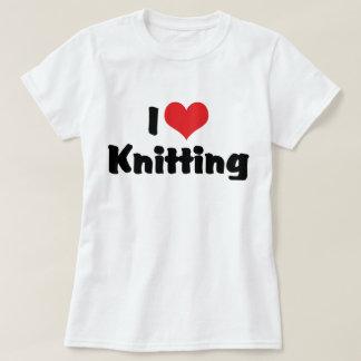 I Love Heart Knitting T-Shirt