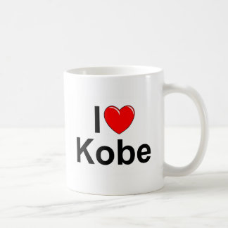 I Love (Heart) Kobe Coffee Mug