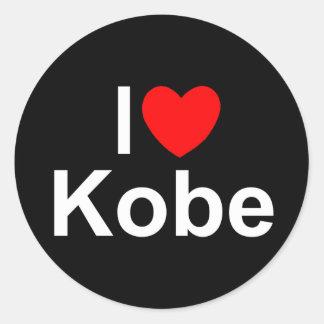 I Love (Heart) Kobe Sticker