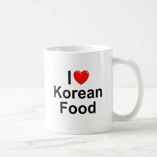I Love(Heart) Korean Food Coffee Mug