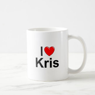 I Love (Heart) Kris Coffee Mug