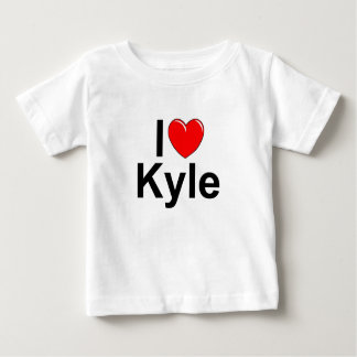 I Love (Heart) Kyle Baby T-Shirt