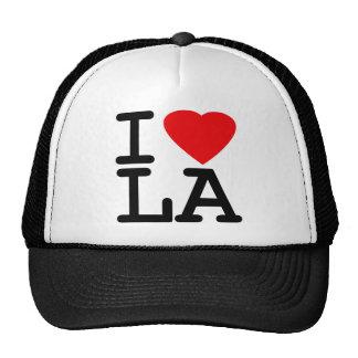 I Love Heart LA Trucker Hat