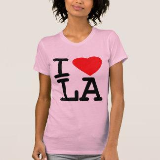I Love Heart LA T Shirt
